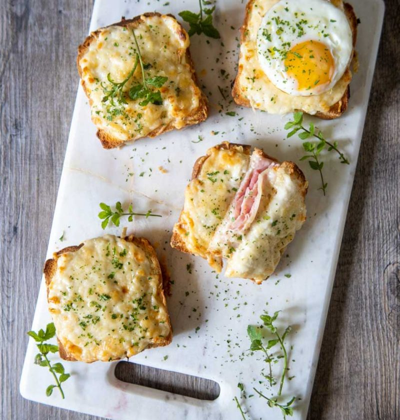 CROQUE MONSIEUR E CROQUE MADAME
